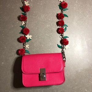 Zara hot pink mini purse